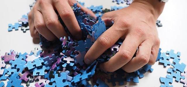 When Life seems like a Difficult Jigsaw Puzzle